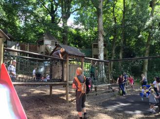 Brockhole's free adventure playground