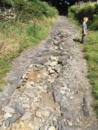 December 2015 flood damage to the paths