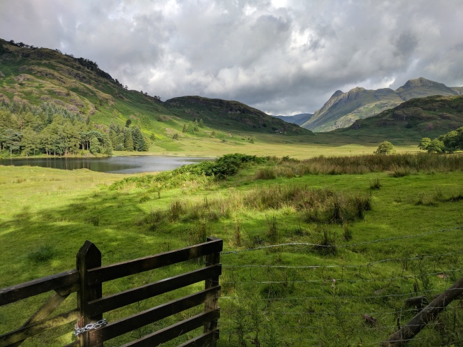 Blea Tarn with Langdales