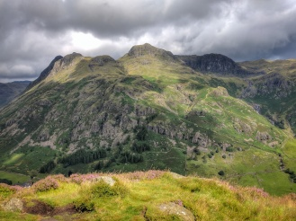 Langdales from Side Pike