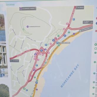 Promenade map