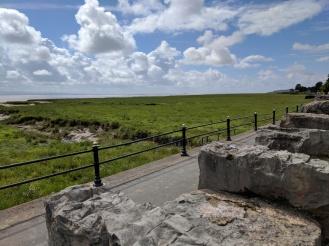 Graet views out over the estuary