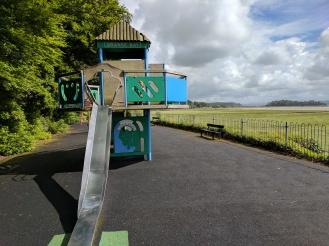 Fun little playground on Grange over Sands promenade