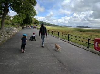 Great family walk at Grange over Sands