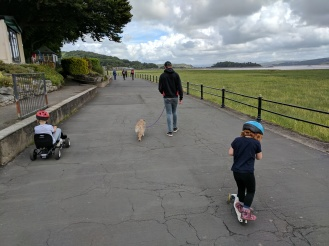 Great family walk at Grange over Sands