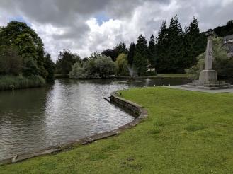 The duck pond at Grange over Sands