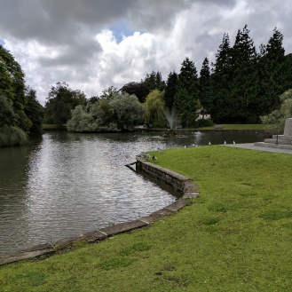 The duck pond at Grange over Sands