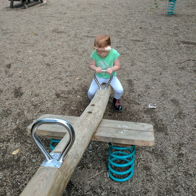 Playground at Fell Foot Park