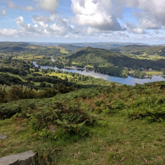 Beautiful views on the way up Gummer's How