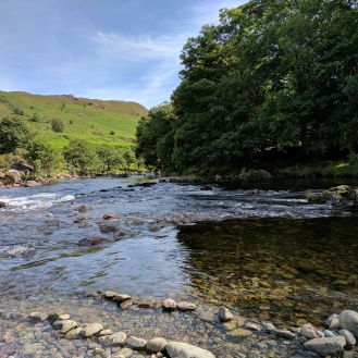 River Duddon at Sella Rock near Ulpha